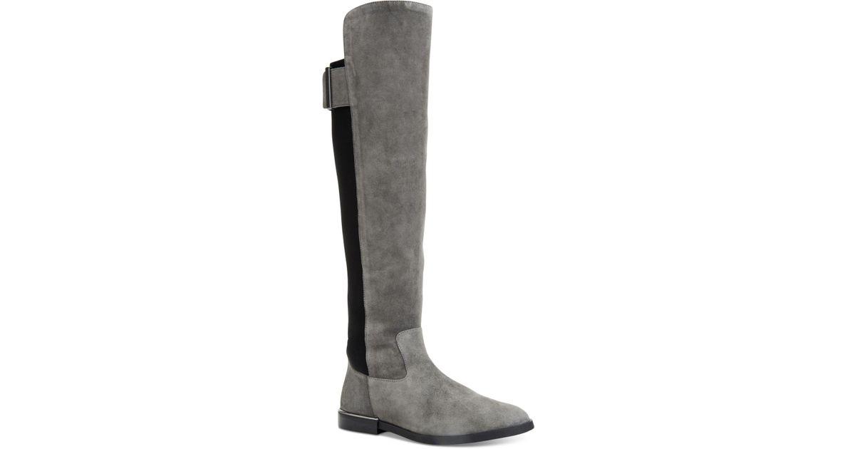 878a7badd67 Lyst - Calvin Klein Women s Priya Boots in Black