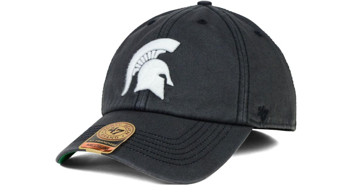 wholesale dealer 00555 bdc41 official store charleston cougars 47 ncaa 47 franchise cap dba65 835f7  buy  lyst 47 brand michigan state spartans sachem cap in gray for men cd581 55dc6