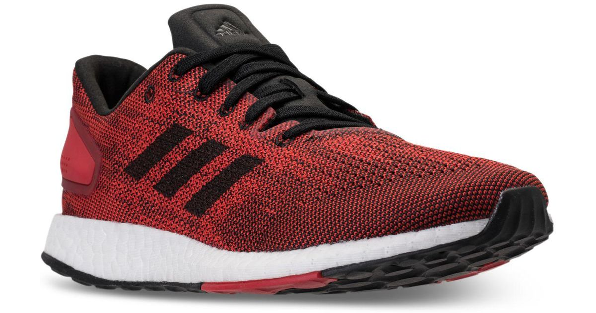 bcce79b791d50 Lyst - adidas Pureboost Dpr Ltd Running Sneakers From Finish Line in Red  for Men