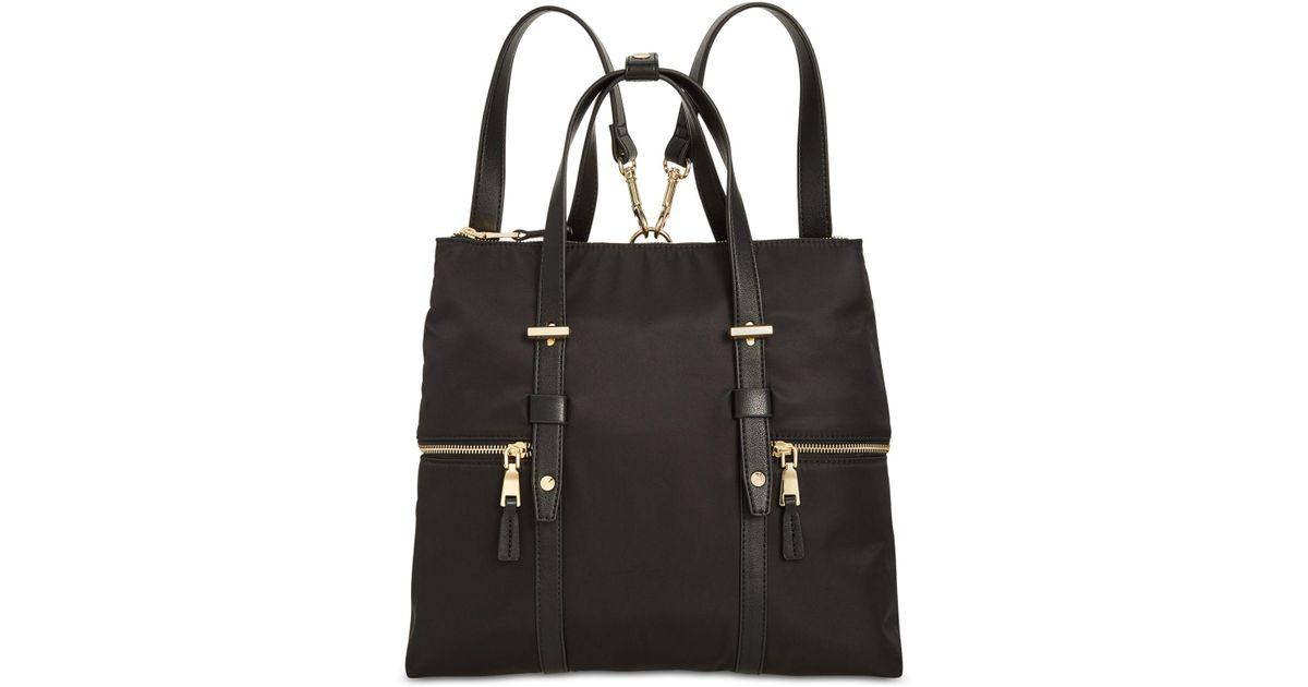 Lyst - Inc International Concepts I.n.c. Haili Nylon Convertible Backpack e800bb646bfc6