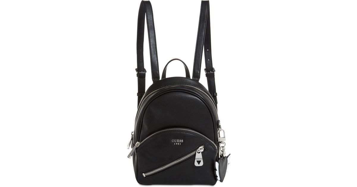 4561604be2 Guess - Black Bradyn Small Backpack for Men - Lyst