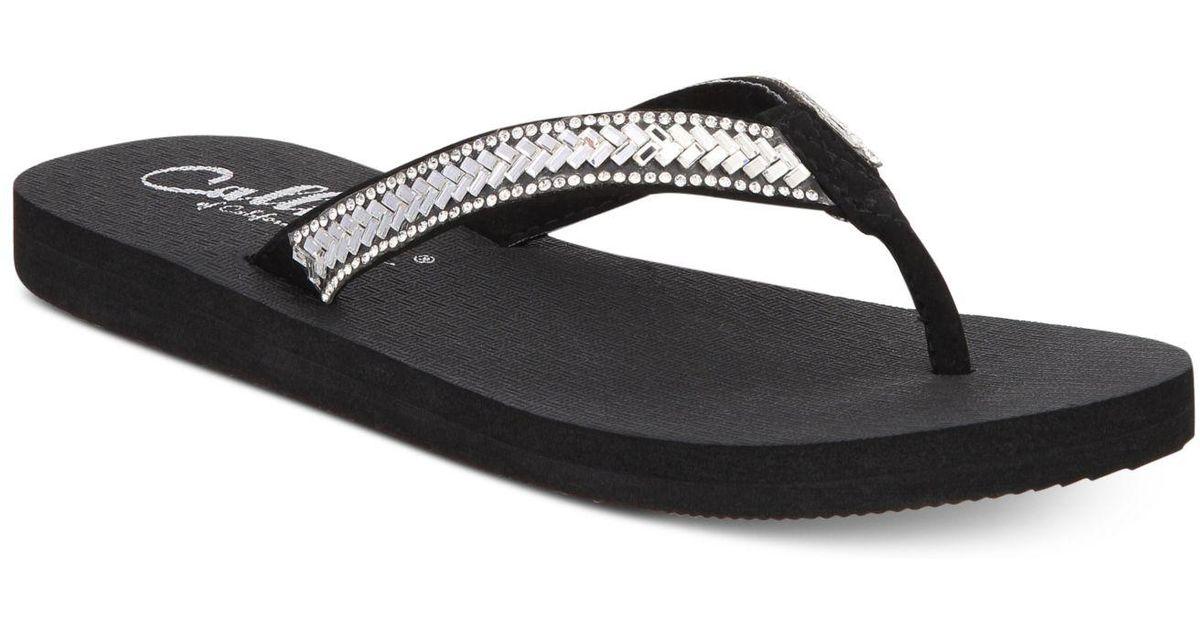 Callisto Tyde Flip Flops Women's Shoes ugIhHnz4V