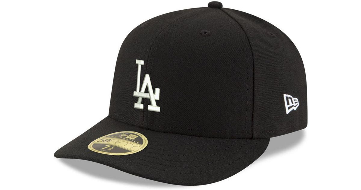 Lyst - KTZ Los Angeles Dodgers Low Profile C-dub 59fifty Fitted Cap in Black  for Men 3fa66c71e8e