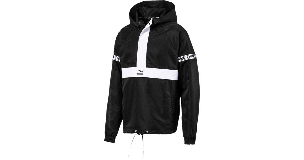 94b75e325 Lyst - PUMA Xtg Half-zip Windbreaker in Black for Men