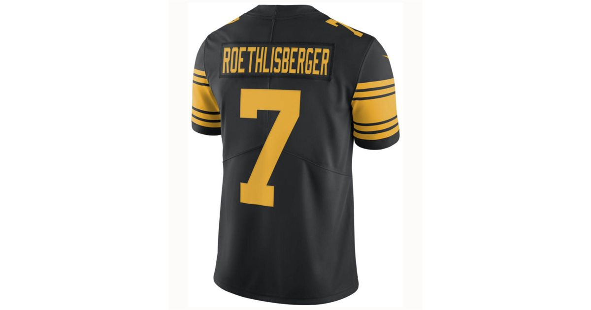 Nike Ben Roethlisberger Pittsburgh Steelers Limited Color Rush