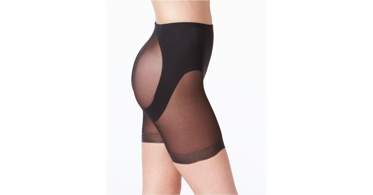 a1cce0ee73844 Lyst - Miraclesuit Shapewear Rear Lifting Boy Shorts 2776 in Black