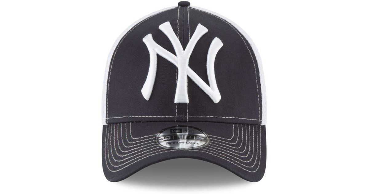 99d54780192 ... spain lyst ktz new york yankees mega team neo 39thirty cap in blue for  men 9ad2d