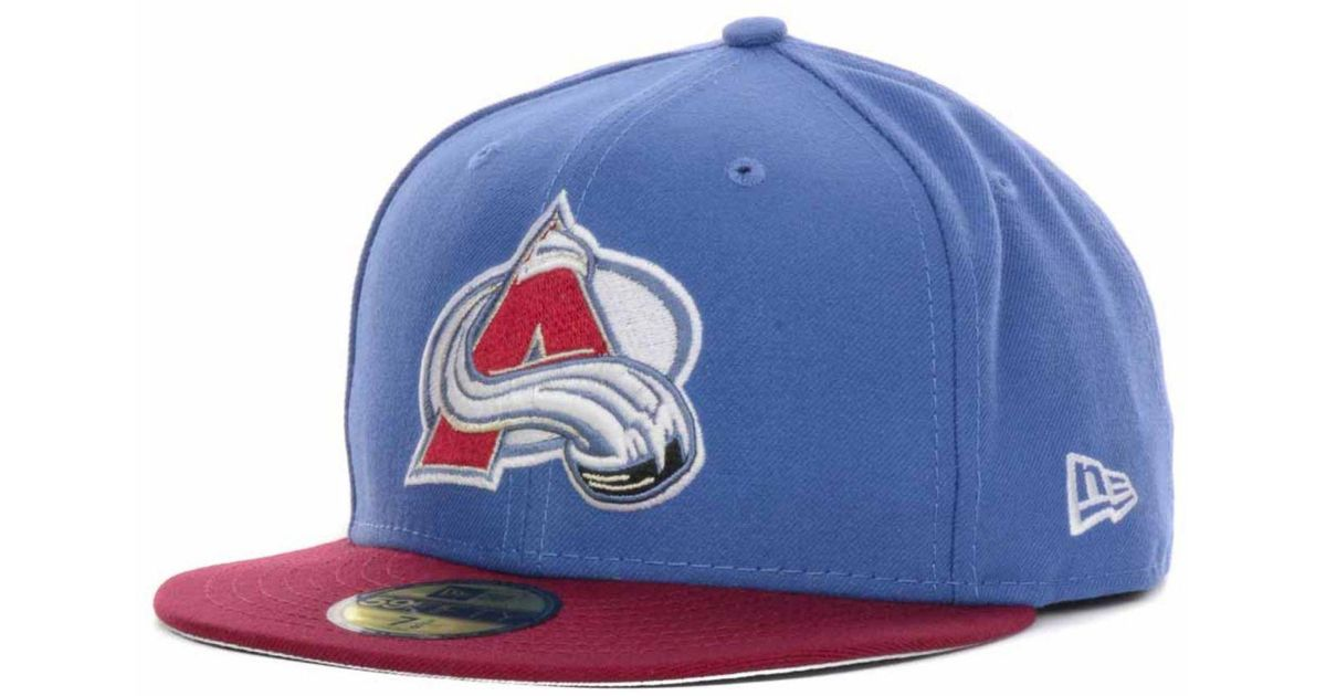 reputable site 8dd47 665b8 Lyst - KTZ Colorado Avalanche Basic 59fifty Cap in Blue for Men