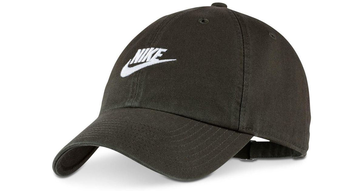 Lyst - Nike Sportswear Futura Twill Hat for Men d0e6353c332