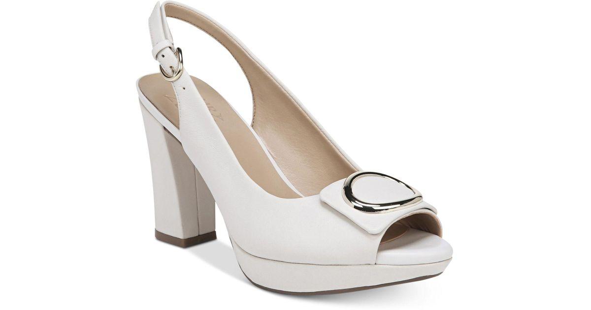 Naturalizer Abby Peep-Toe Dress Sandals Women's Shoes d5GByP