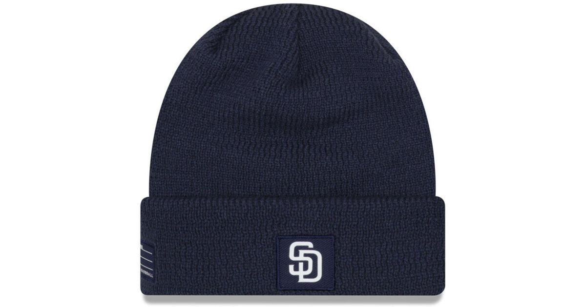 4b47ae413282d ... purchase lyst ktz san diego padres sport knit hat in blue for men fda80  5f030