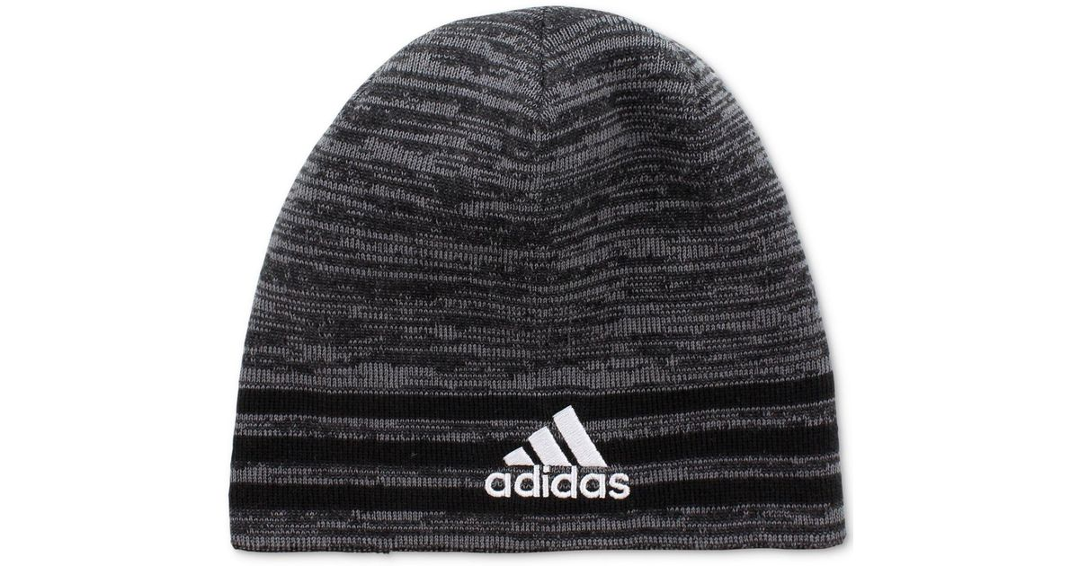 8783f799 Lyst - adidas Eclipse Climawarm® Reversible Beanie in Black for Men