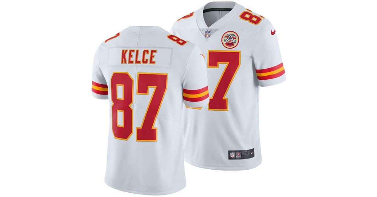 Lyst - Nike Travis Kelce Kansas City Chiefs Vapor Untouchable Limited Jersey  in White for Men 0afcf7b8c