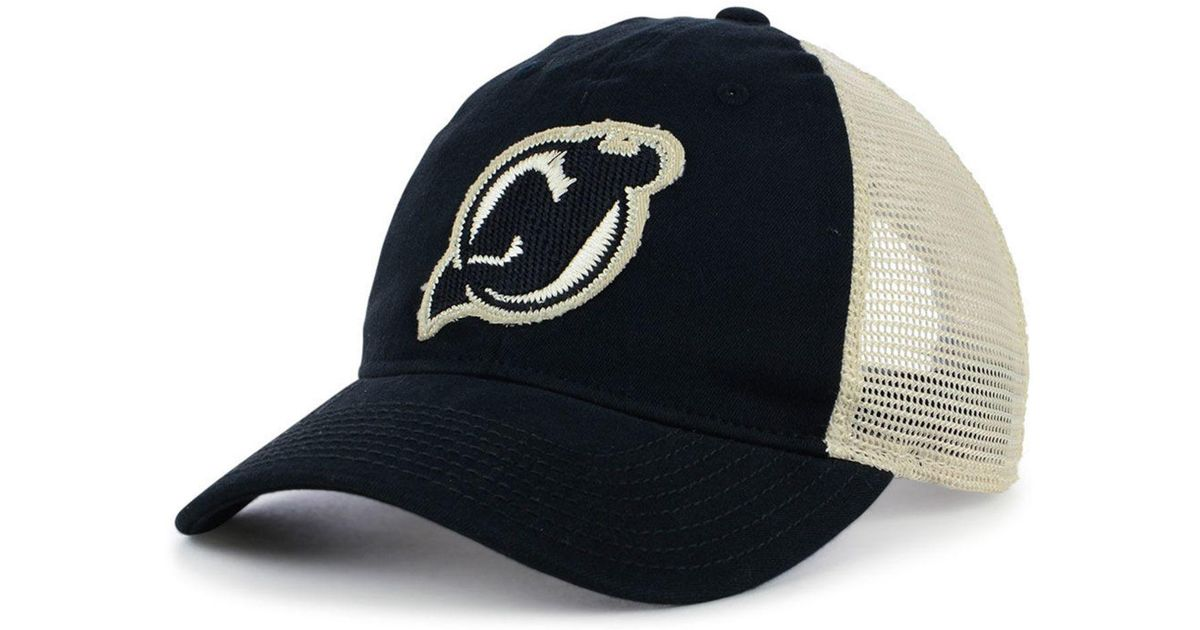 meet ac2d5 f0f69 adidas New Jersey Devils Sun Bleached Slouch Cap in Black for Men - Lyst