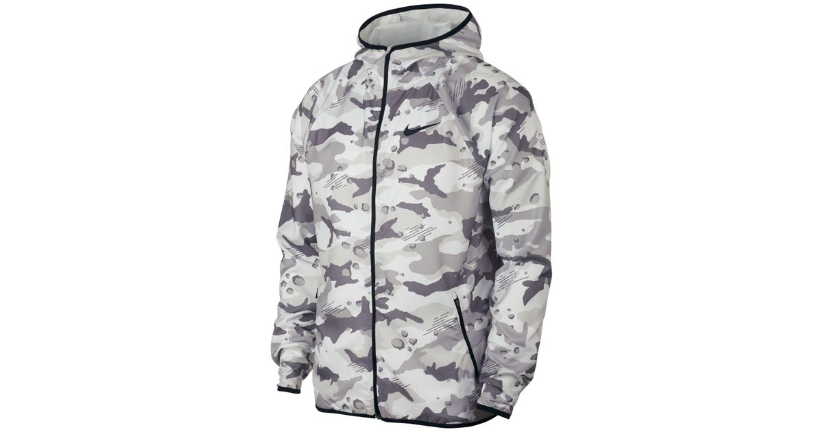 555c481770213 Nike Dry Jacket Team Woven 2l Camo in Gray for Men - Lyst