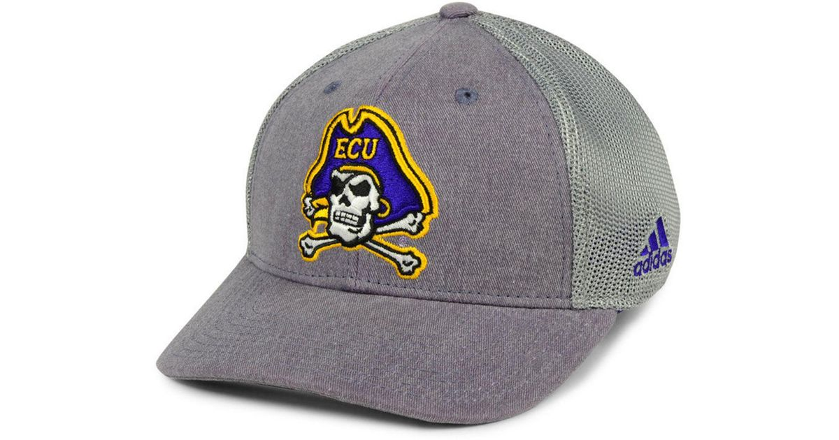 sports shoes a57ad 89f00 ... france lyst adidas east carolina pirates faded flex cap in gray for men  8cd73 cf3ab