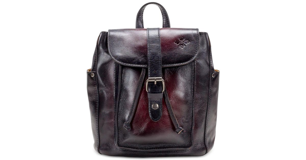 ebf8c30023a998 Patricia Nash Aberdeen Stained Leather Backpack - Lyst