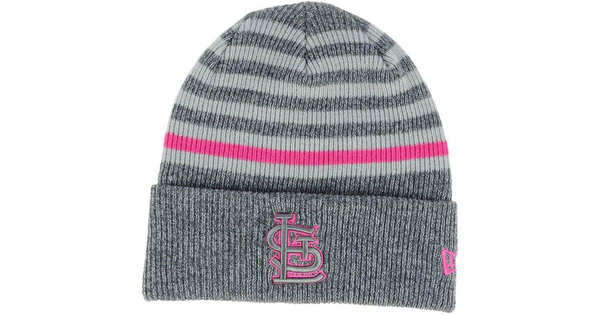 007f9cfb2 shop st louis cardinals knit hat 03f35 bec2e