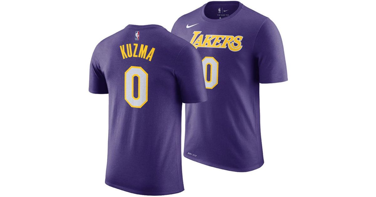Lyst - Nike Kyle Kuzma Los Angeles Lakers Statement Player T-shirt in  Purple for Men 3b86f2f58