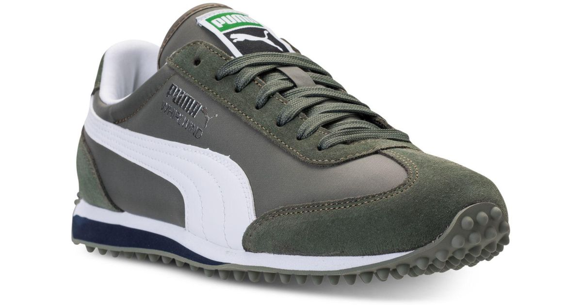 fef2b19f4c66 Lyst - Puma Men s Whirlwind Casual Sneakers From Finish Line in Green for  Men
