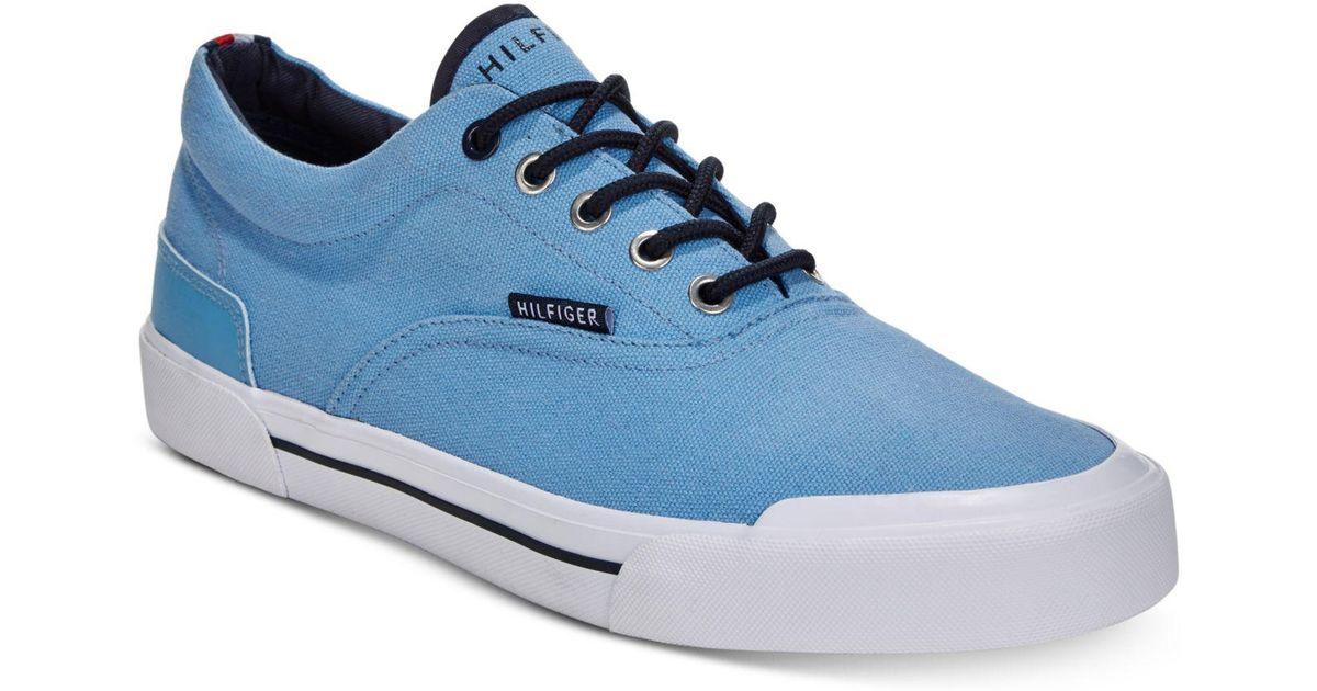 ba61fe157a1d7 Lyst - Tommy Hilfiger Pallet Sneakers in Blue for Men