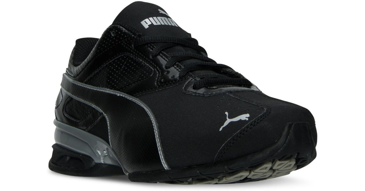 5643d3fdd38 Lyst - Puma Men s Tazon 6 Wide Running Sneakers From Finish Line in Black  for Men