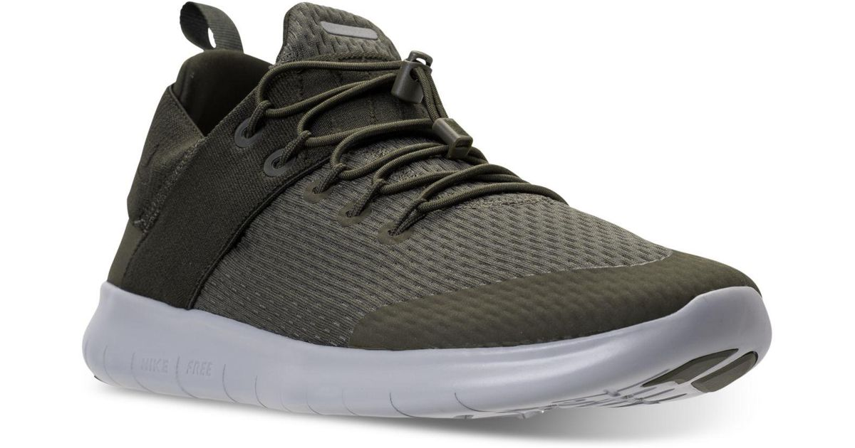 823a4de030a0e Lyst - Nike Men s Free Run Commuter 2017 Running Sneakers From Finish Line  in Black for Men