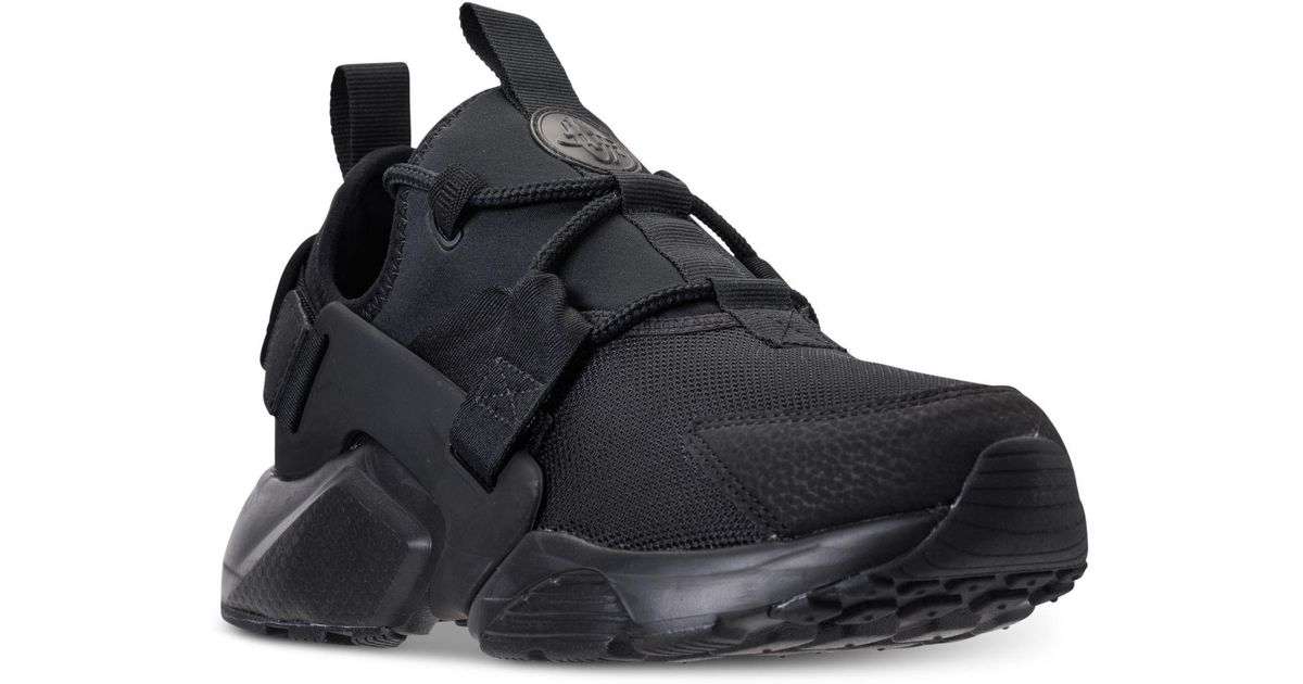 Lyst , Nike Air Huarache City Low Casual Sneakers From Finish Line in Black