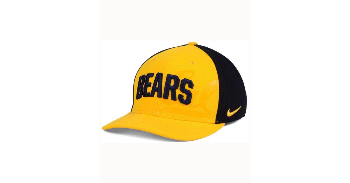 5eb0d498cba ... norway lyst nike california golden bears classic 99 swoosh flex cap in  yellow for men 572a6