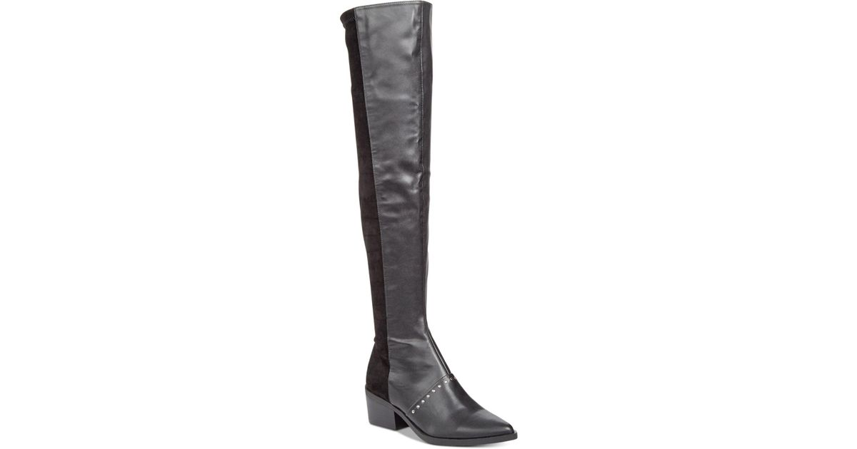 ac0d5ee995d Lyst - Report Zaria Over-the-knee Boots in Black