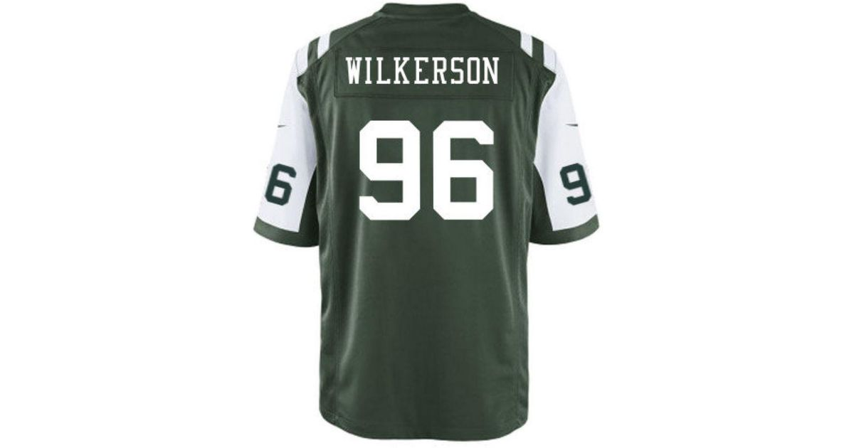 a4f595ce0 Lyst - Nike Men s Muhammad Wilkerson New York Jets Game Jersey in Green for  Men