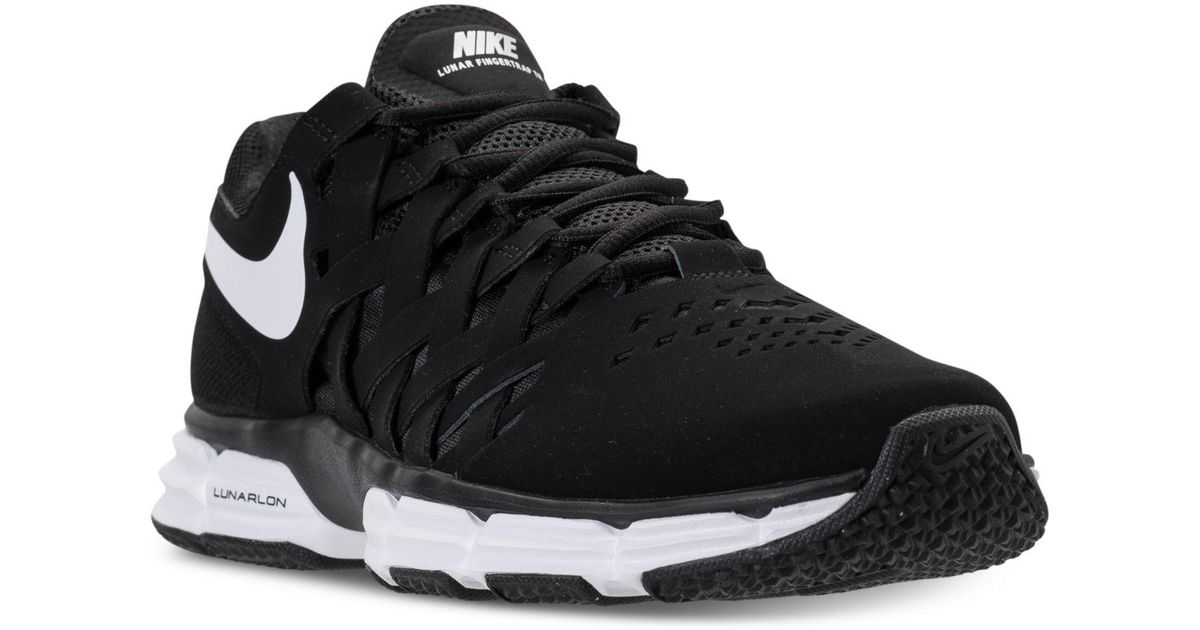 3808104c68 ... Lyst - Nike Men s Lunar Fingertrap Tr Wide 4e Training Sneakers From  Finish Line in ...