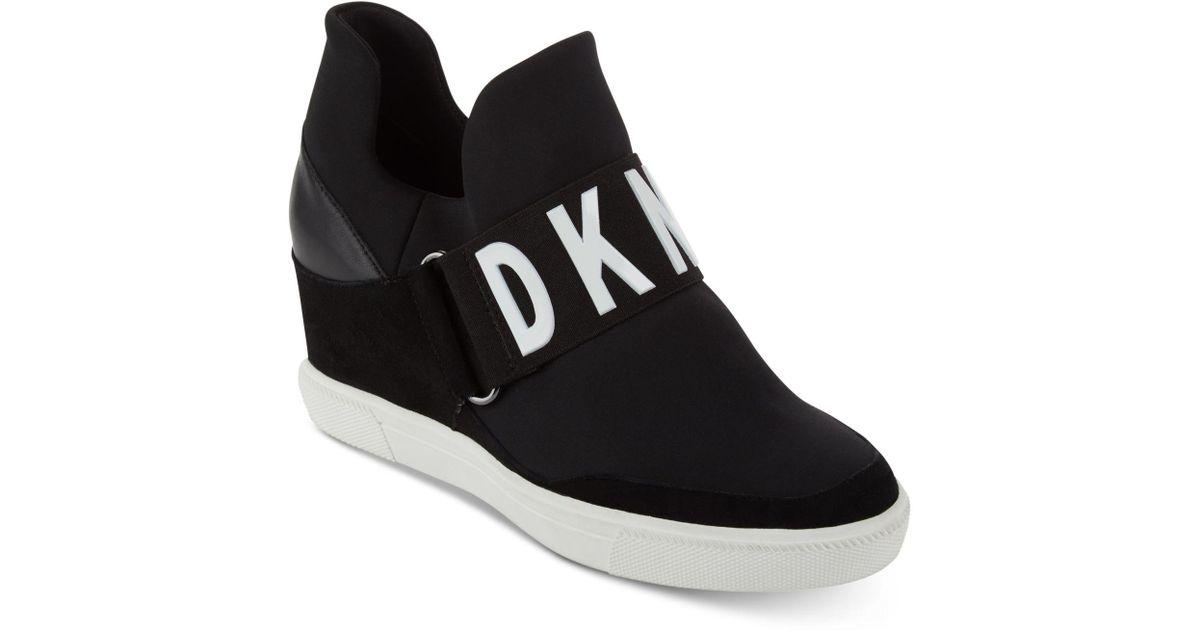 7ad0f961a9da Lyst - DKNY Cosmos Platform Sneakers