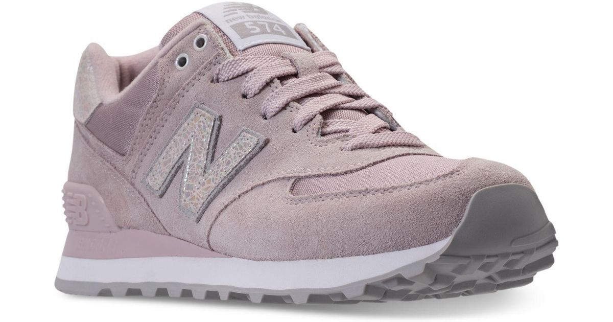 New Balance Multicolor Women's 574 Shattered Pearl Casual Sneakers From Finish Line