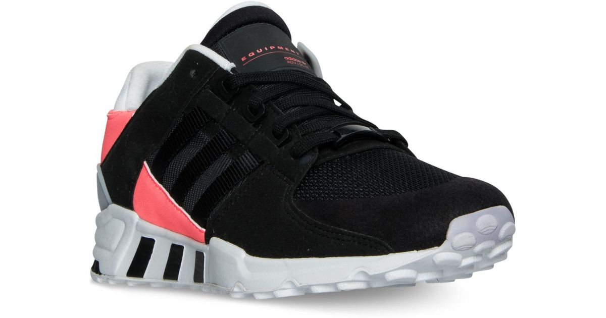 quality design 3a89a 6994d Adidas - Black Men's Eqt Support Refine Casual Sneakers From Finish Line  for Men - Lyst