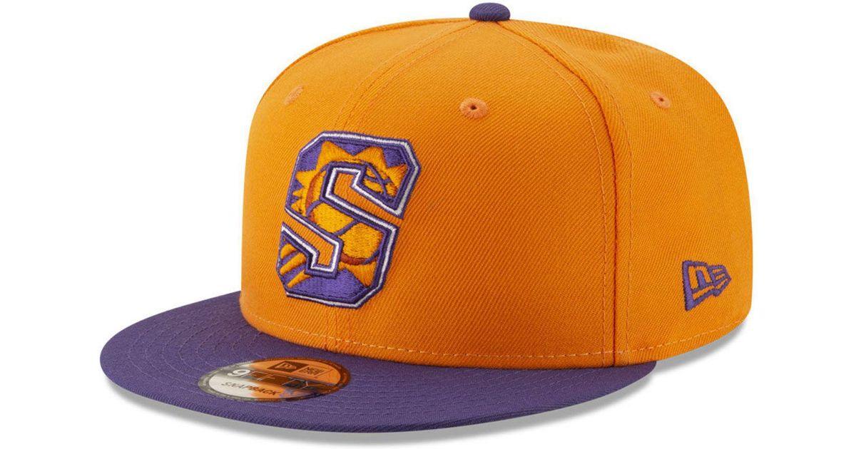 quality design 98479 e012e Lyst - KTZ Phoenix Suns Light City Combo 9fifty Snapback Cap in Orange for  Men