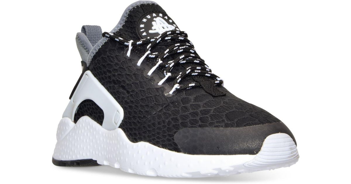 premium selection ed4fd bb44c ... clearance lyst nike womens air huarache run ultra se running sneakers  from finish line in black