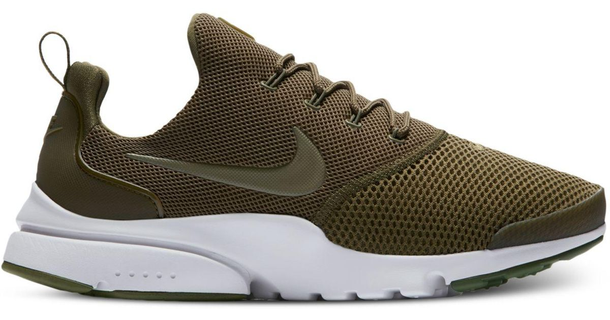 super popular 2fce2 997a2 Nike - Green Men's Presto Fly Running Sneakers From Finish Line for Men -  Lyst