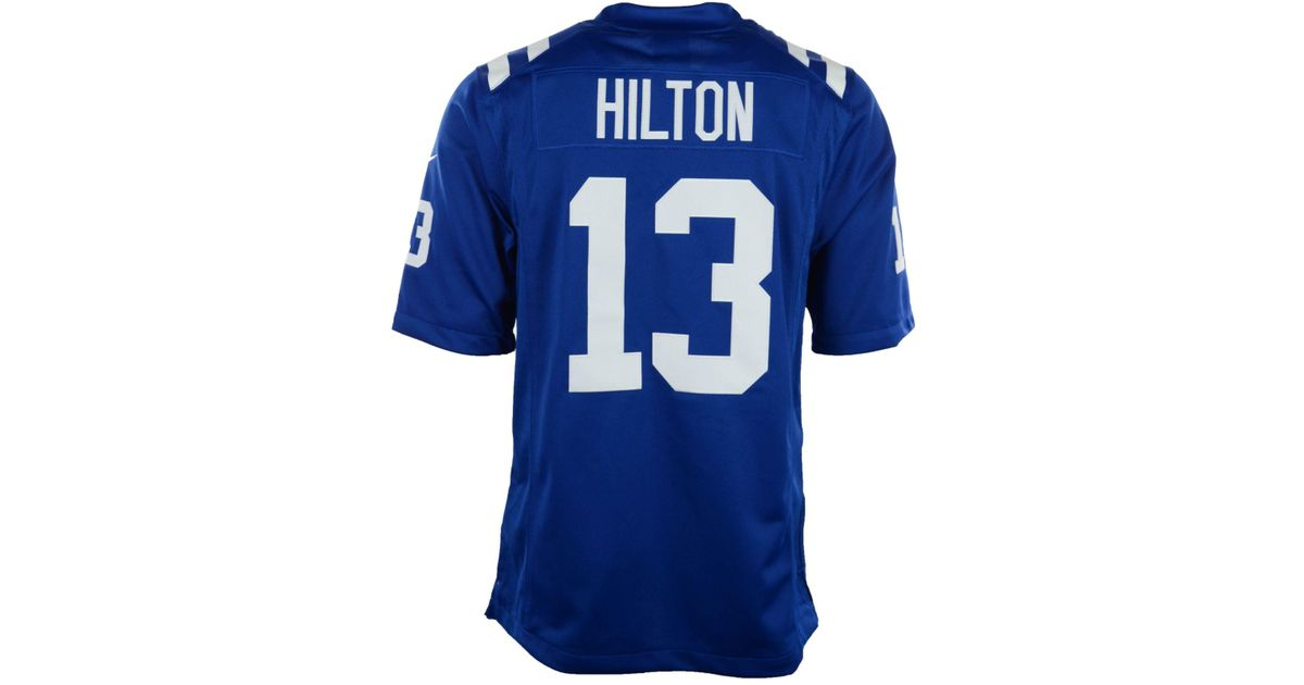 san francisco 21863 b508b Nike - Blue Men's Ty Hilton Indianapolis Colts Limited Jersey for Men - Lyst