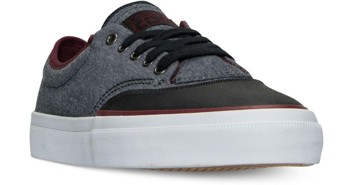 e2ad22b5eecd Lyst - Converse Chuck Taylor All Star Crimson Casual Sneakers From Finish  Line in Black for Men
