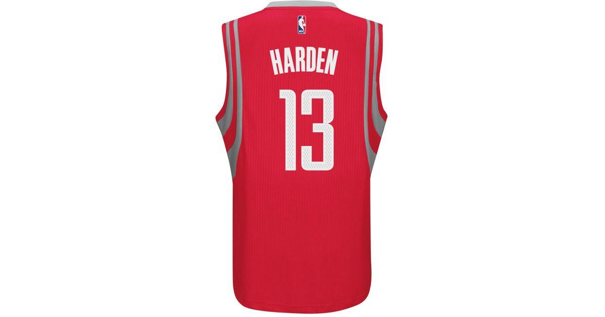 timeless design 2700c ed540 Adidas Originals - Red Men's James Harden Houston Rockets Swingman Jersey  for Men - Lyst