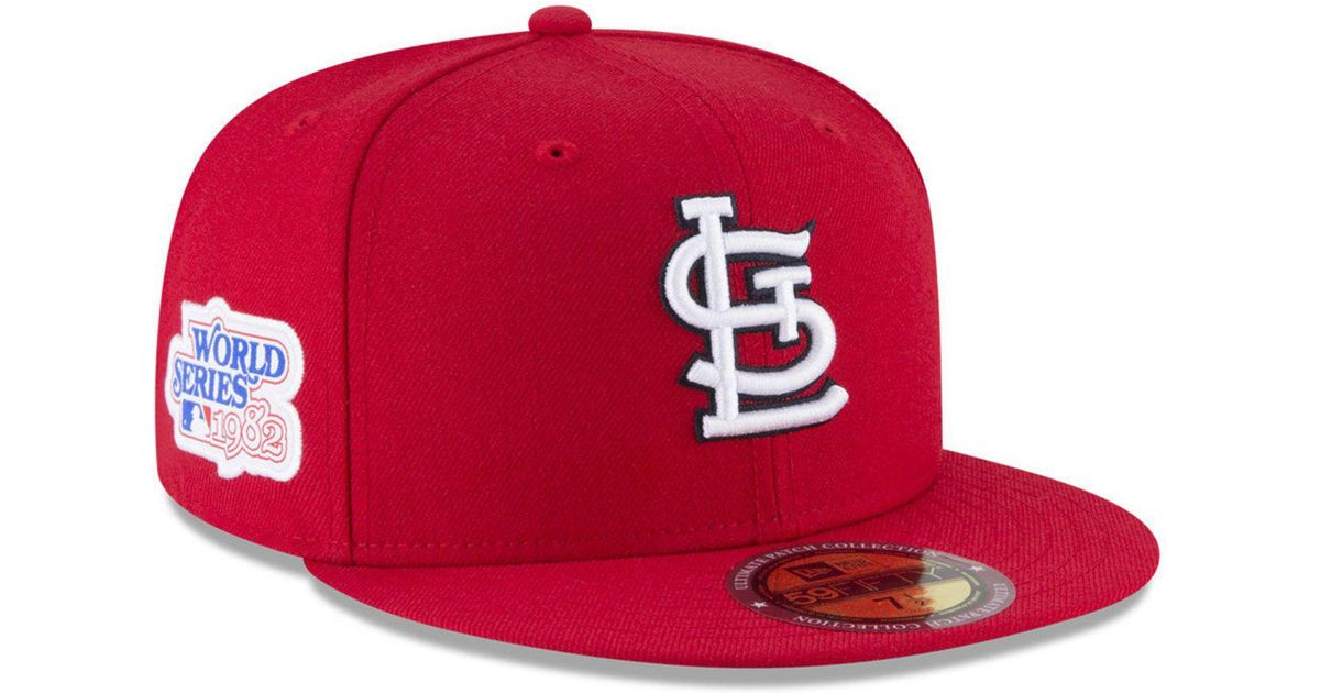 003453c62b4 Lyst - Ktz Ultimate Patch Collection World Series 2.0 59fifty Fitted Cap in  Red for Men