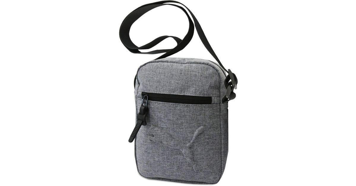e905c81912d PUMA Reformation Logo Crossbody Bag in Black for Men - Lyst