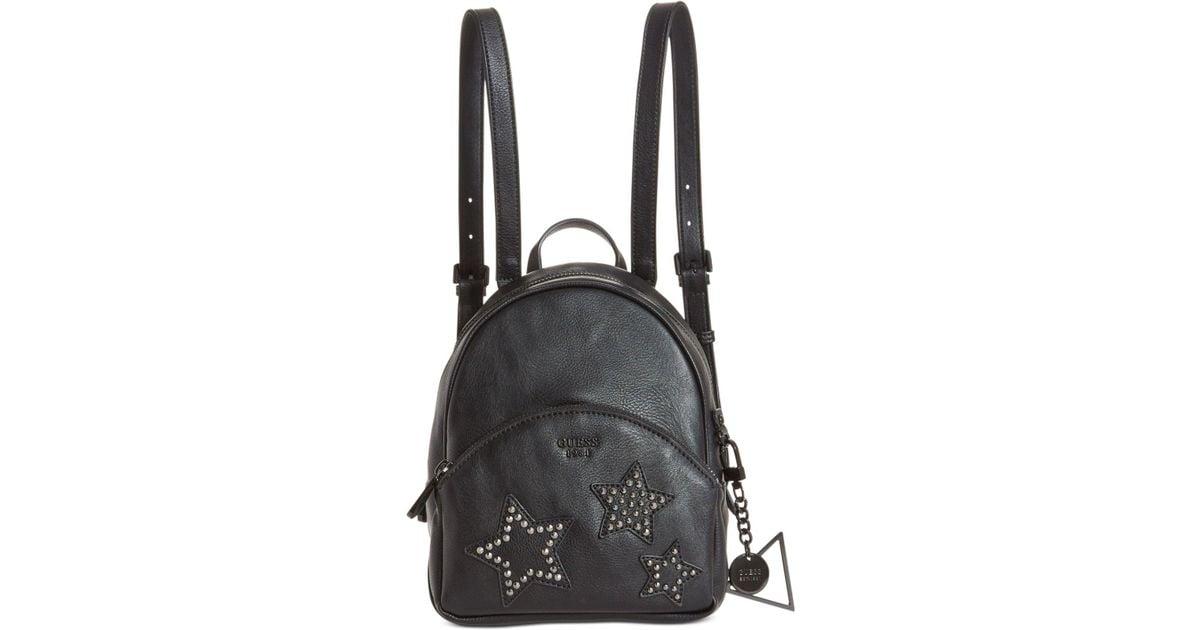 39a1632a11 Guess - Black Bradyn Small Backpack - Lyst