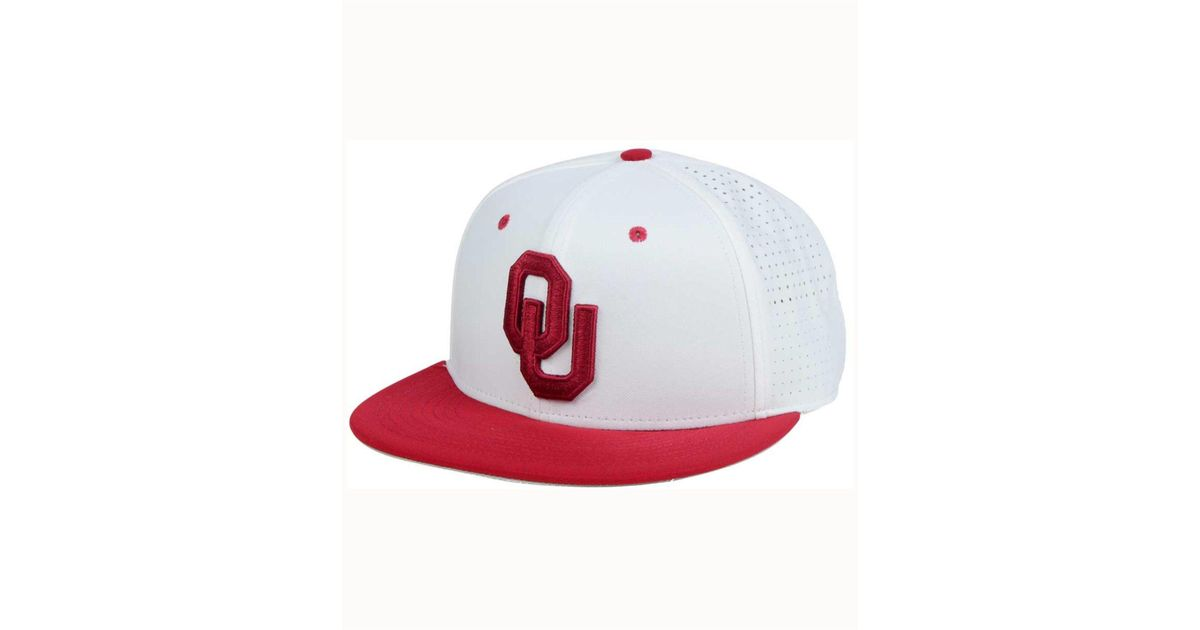 9a22fb88311d74 Nike Oklahoma Sooners True Vapor Fitted Cap in Red for Men - Lyst