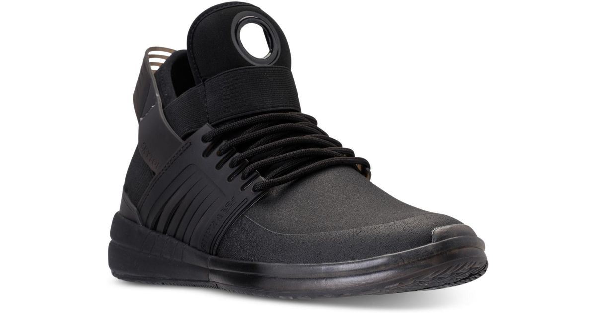 Lyst - Supra Skytop V Casual Sneakers From Finish Line in Black for Men d536ef42795