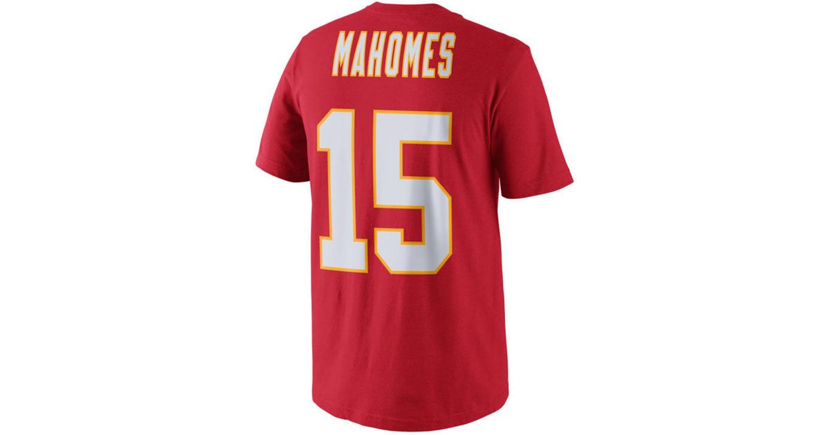 Lyst - Nike Pat Mahomes Kansas City Chiefs Pride Name And Number T-shirt in  Red for Men 77a92ba65