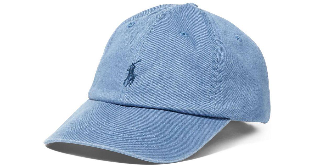 abfbf63478ed0 Polo Ralph Lauren Classic Sport Cap in Blue for Men - Save 39% - Lyst