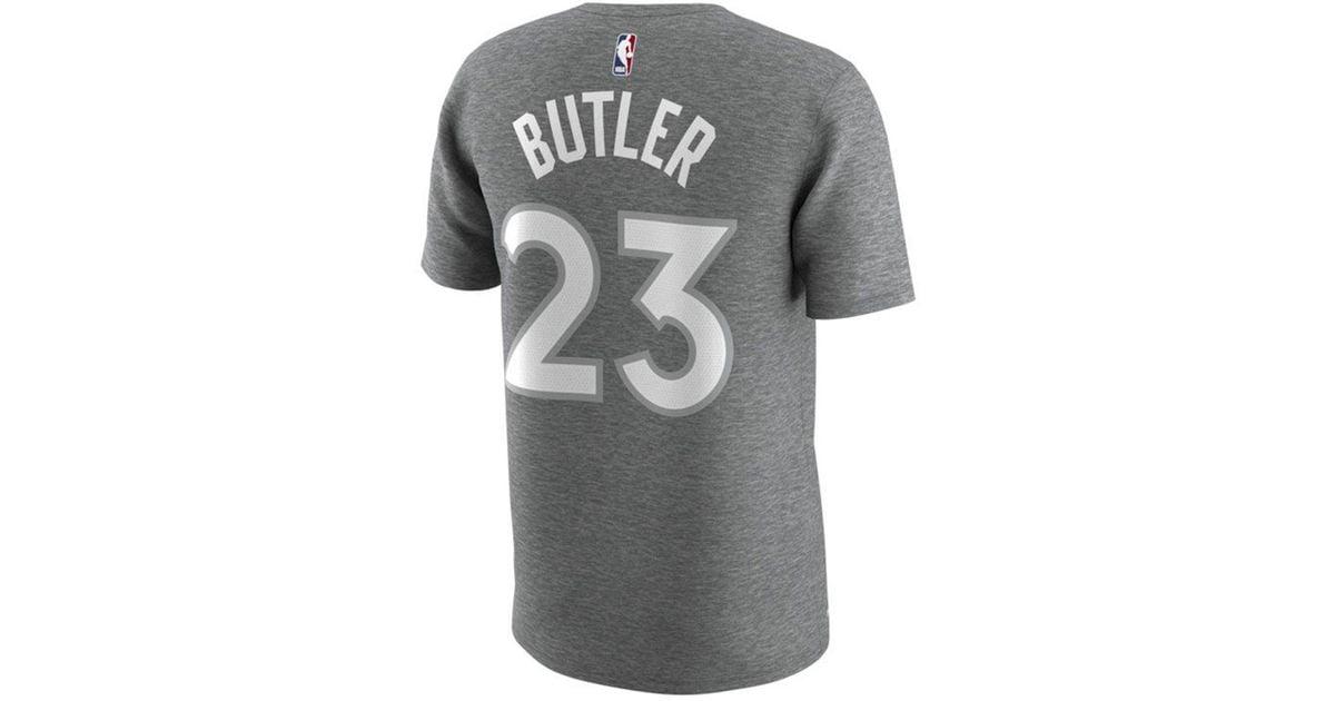 Lyst - Nike Jimmy Butler Minnesota Timberwolves City Player T-shirt in Gray  for Men afadea59e