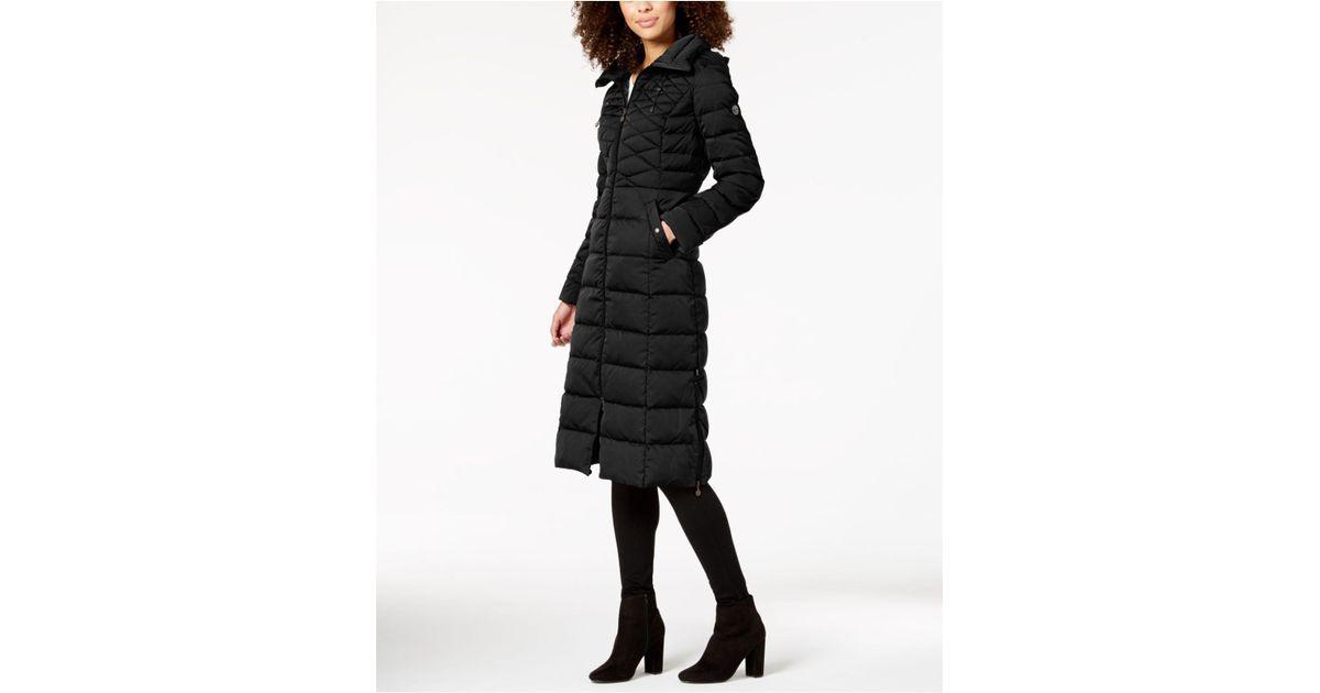 405fd26b6e9 Lyst - Bernardo Maxi Puffer Coat in Black